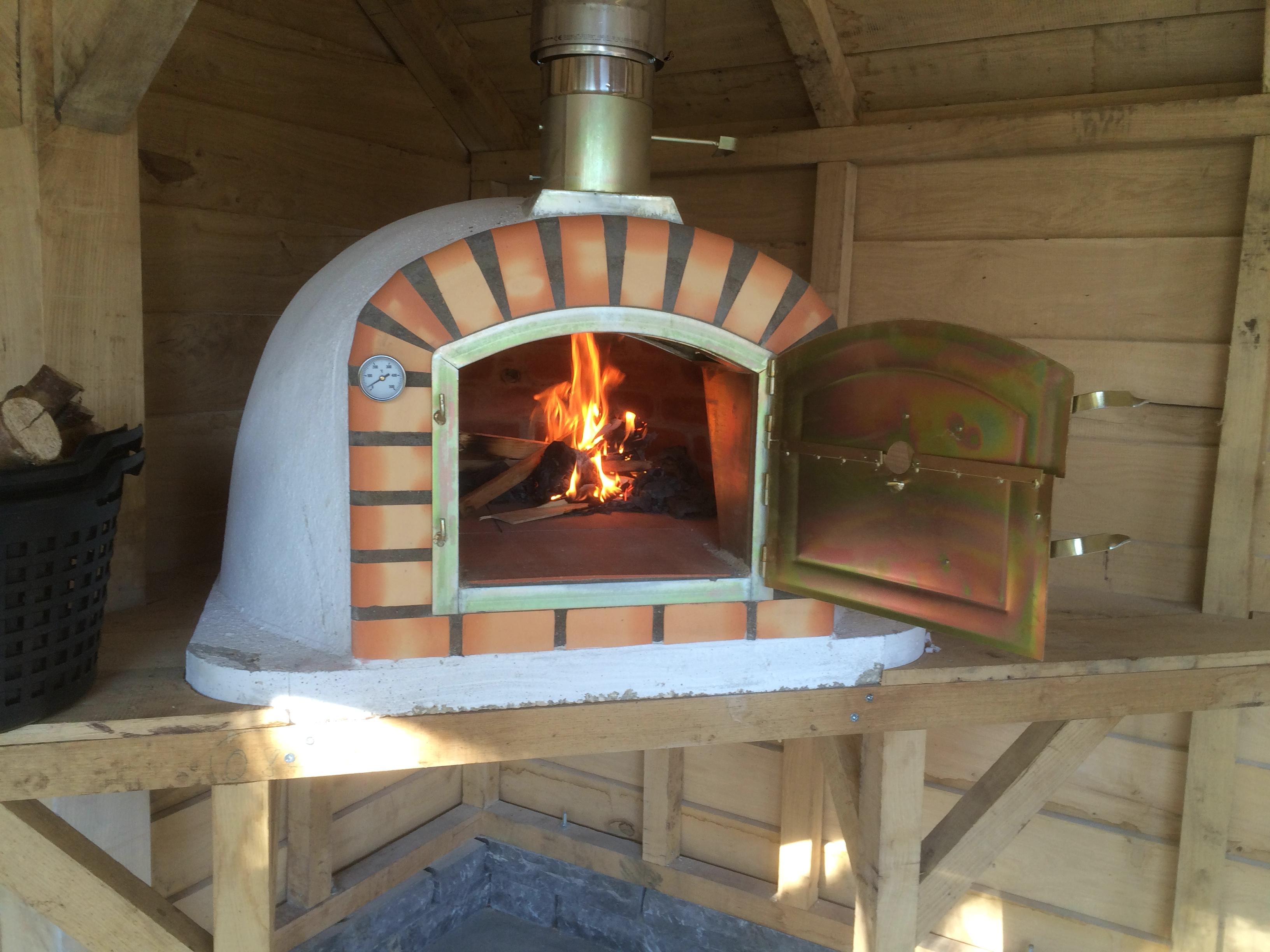 Pizza Oven Tuin : Pizzaovens streefkerk bouw